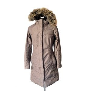 The North Face Women's Light Brown Arctic Parka,XS